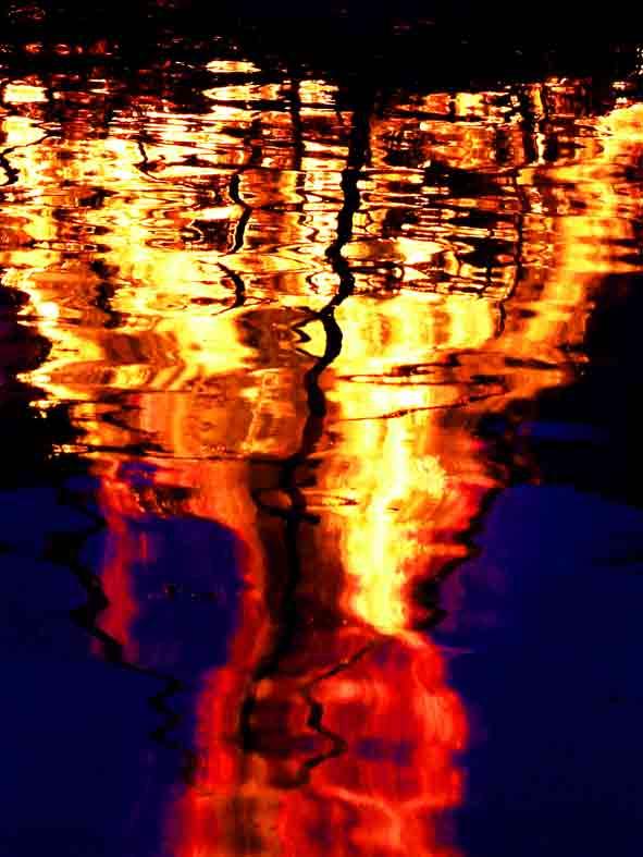 Art by Nicole Kudera, Fire