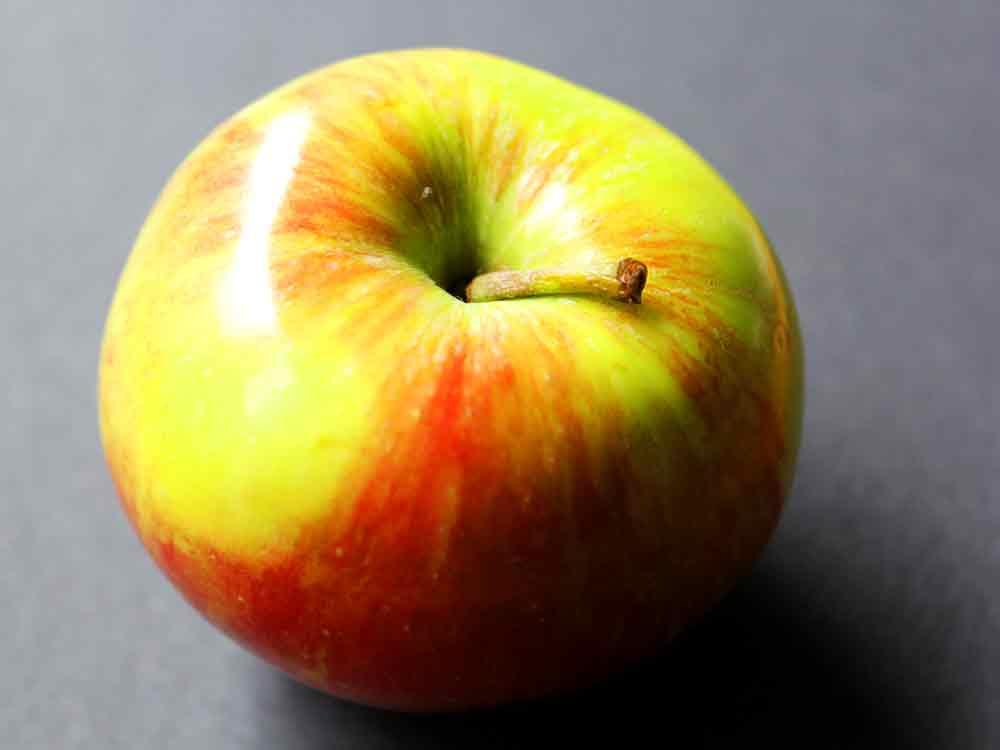 Art by Nicole Kudera, Round Apple