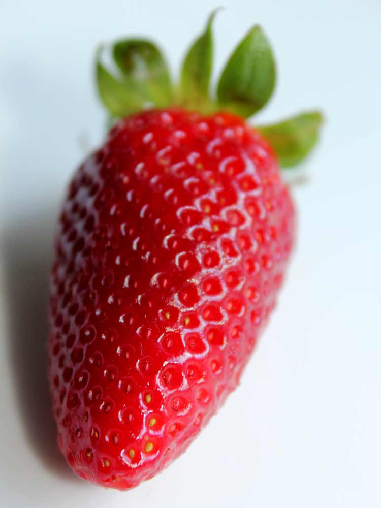 Art by Nicole Kudera, Red Strawberry